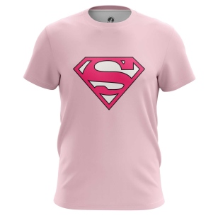 Футболка Superman pink logo купить