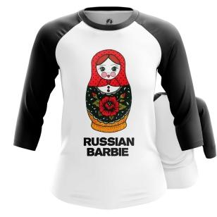 Женский Реглан 3/4 Матрешка - купить в teestore