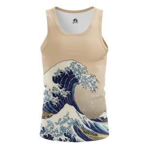 Мужская Майка Большая волна в Канагаве - купить в teestore