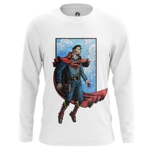 Мужской Лонгслив Стимпанк Супермен - купить в teestore