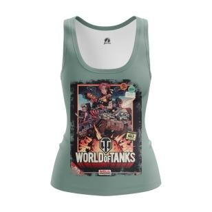 Женская Майка World of Tanks - купить в teestore