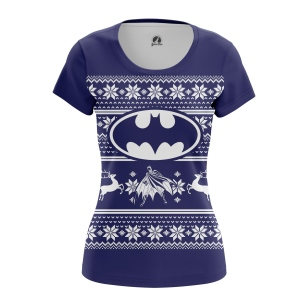 Женская Футболка Christmas Bats - купить в teestore