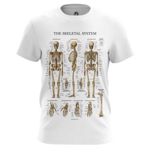 Футболка Скелет человека - купить в teestore. Доставка по РФ