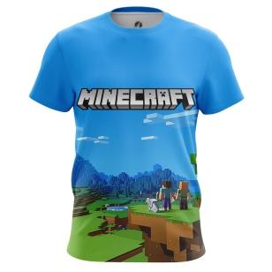 Футболка Minecraft - купить в teestore. Доставка по РФ