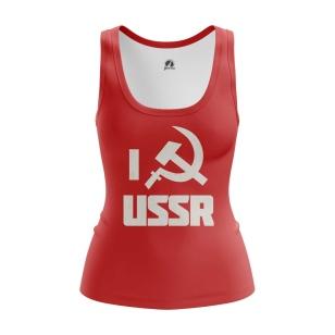 Женская Майка USSR - купить в teestore