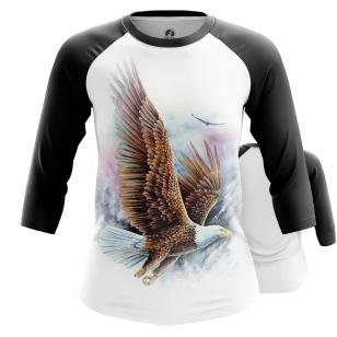 Женский Реглан 3/4 Eagles - купить в teestore