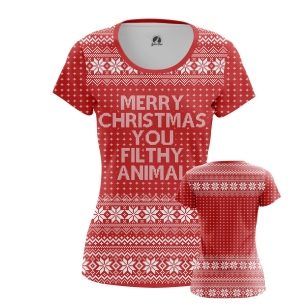 Женская Футболка Merry Christmas - купить в teestore