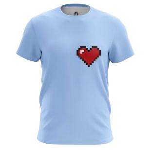 Футболка Пиксельное сердце купить