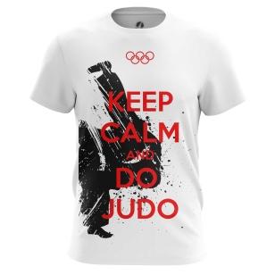 Футболка Keep calm and do judo - купить в teestore. Доставка по РФ