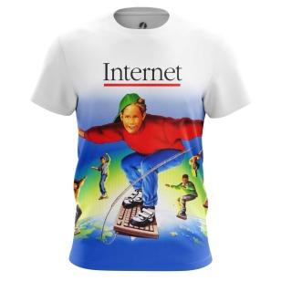 Футболка Internet - купить в teestore. Доставка по РФ