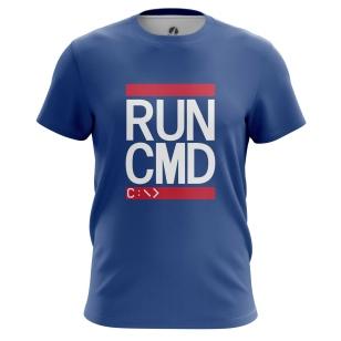 Футболка Run CMD - купить в teestore. Доставка по РФ