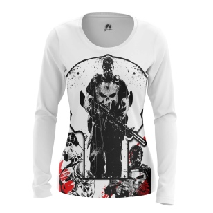 Женский Лонгслив Punisher 4 - купить в teestore