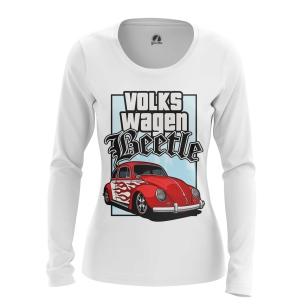 Женский Лонгслив Volkswagen Beetle - купить в teestore