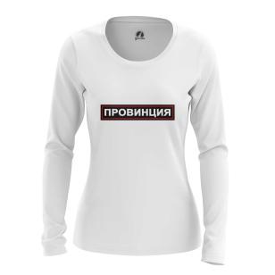 Женский Лонгслив Провинция - купить в teestore