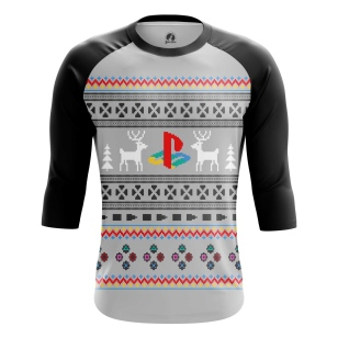 Мужской Реглан 3/4 Playstation - купить в teestore