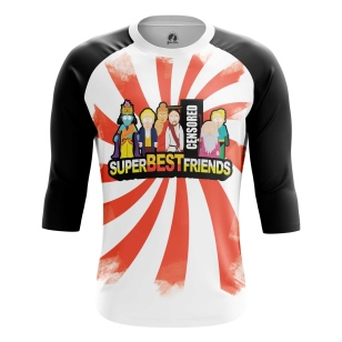 Мужской Реглан 3/4 Best friends - купить в teestore