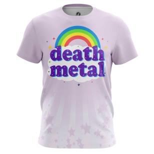 Футболка Death metal - купить в teestore. Доставка по РФ