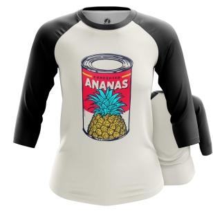 Женский Реглан 3/4 Ananas - купить в teestore