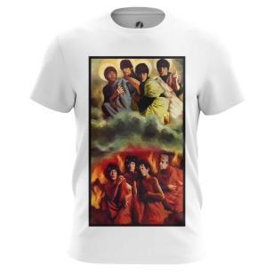 Футболка Rolling Stones vs Beatles - купить в teestore. Доставка по РФ