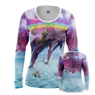 Женский Лонгслив Sea World - купить в teestore