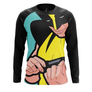 Мужской Лонгслив Pop art Wolverine - купить в teestore