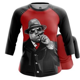 Женский Реглан 3/4 The Notorious B.I.G. - купить в teestore