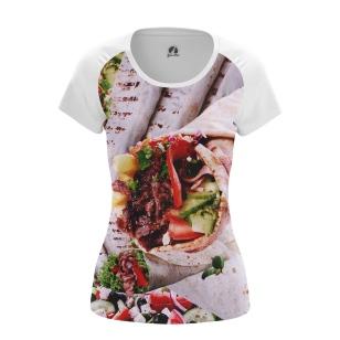 Женская футболка Лаваш  купить