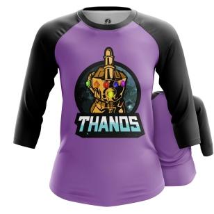 Женский Реглан 3/4 Thanos - купить в teestore