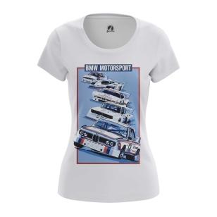 Женские Женские футболки BMW Motorsport. Доставка по всей России