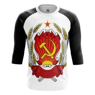 Мужской Реглан 3/4 СССР - купить в teestore