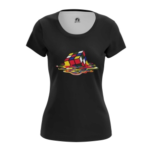Женская Футболка Cube - купить в teestore