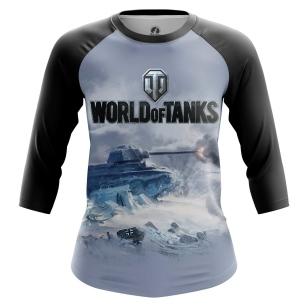 Женский Реглан 3/4 World of Tanks - купить в teestore