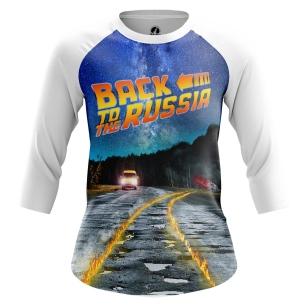 Женский Реглан 3/4 Back to Russia - купить в teestore