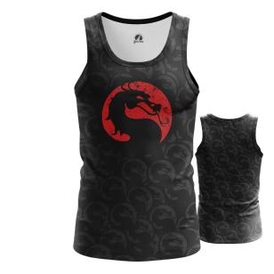 Мужская Майка Mortal Kombat лого - купить в teestore