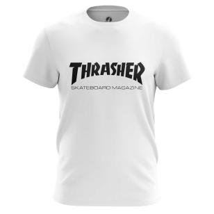 Футболка Thrasher белая - купить в teestore. Доставка по РФ