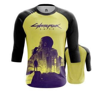 Мужской Реглан 3/4 Cyberpunk 2077  - купить в teestore