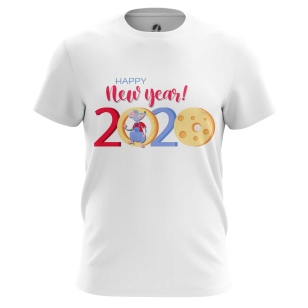 Футболка Happy New Year - купить в teestore. Доставка по РФ