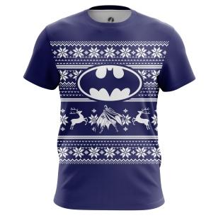 Мужские Футболки Christmas Bats. Доставка по всей России