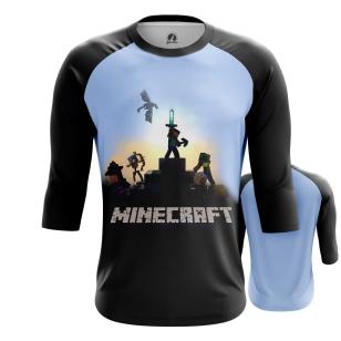 Мужской Реглан 3/4 Minecraft 9 - купить в teestore