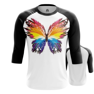 Мужской Реглан 3/4 Butterfly - купить в teestore