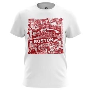 Футболка Бостон - купить в teestore. Доставка по РФ