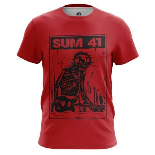 Футболка Sum 41 - купить в teestore. Доставка по РФ