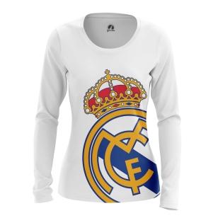 Женский Лонгслив Реал Мадрид - купить в teestore