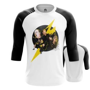 Мужской Реглан 3/4 Metallica Band - купить в teestore