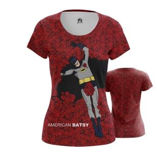Женская Футболка American Batsy - купить в teestore