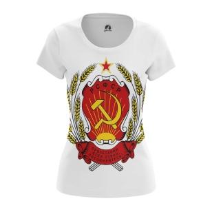 Женские Женские футболки СССР. Доставка по всей России
