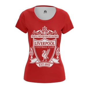 Женская Футболка Ливерпуль - купить в teestore