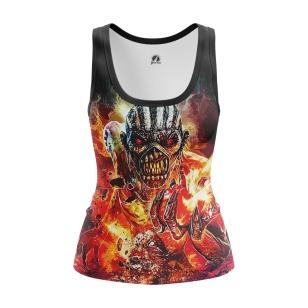 Женская Майка Iron Maiden - The Book of Souls - купить в teestore
