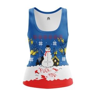 Женская Майка Christmas of white - купить в teestore