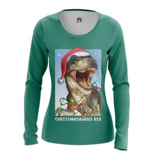 Женский Лонгслив Christmasaurus Rex - купить в teestore